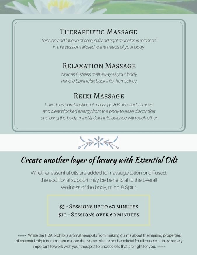 Massage - Website