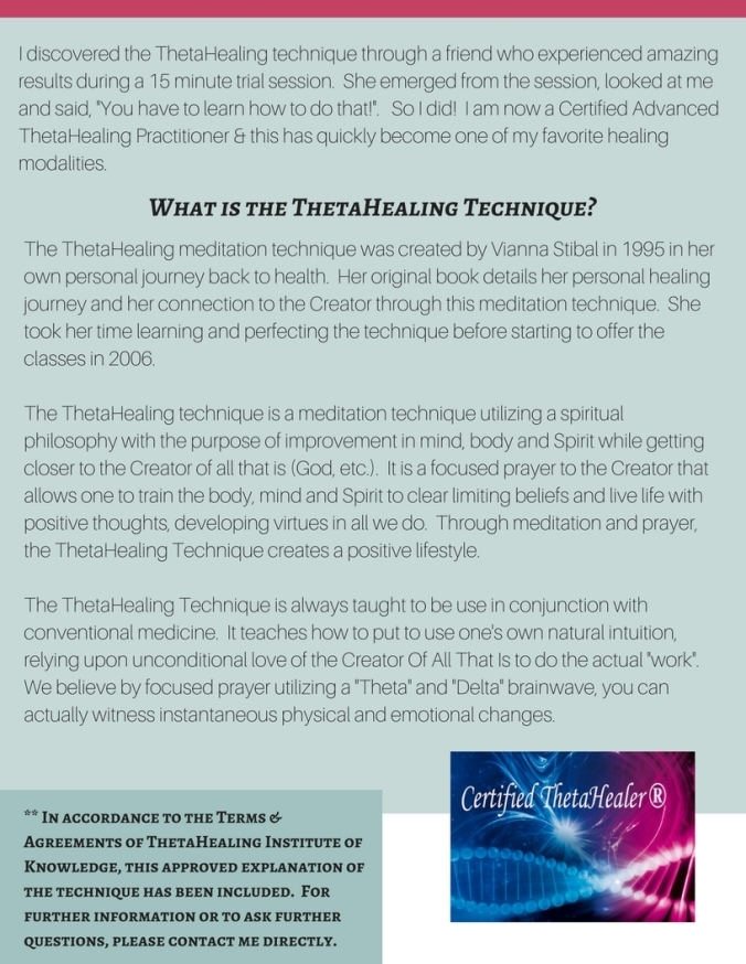 ThetaHealing - website